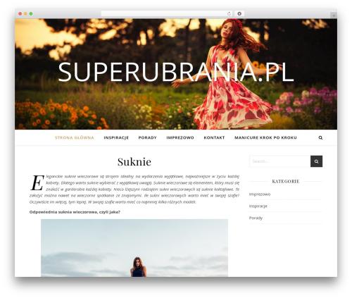 WordPress theme Ashe - superubrania.pl