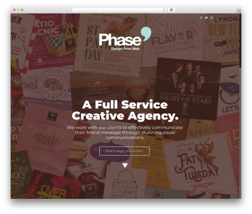 WordPress theme Betheme - studiophase9.com