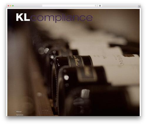 WordPress website template Agora - klcompliance.com