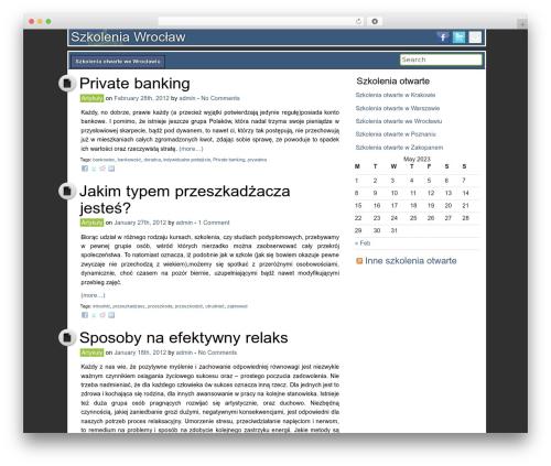 WP theme DroidPress - szkolenia-wroclaw.com