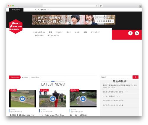 Epira Lite WordPress theme - sports-superplay-library.com