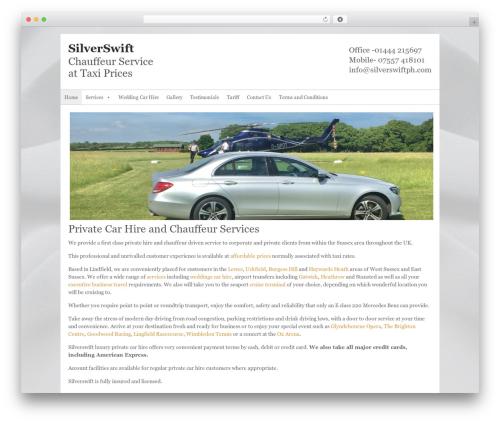 WordPress theme Ultra Business Wordpress Theme - silverswiftph.com