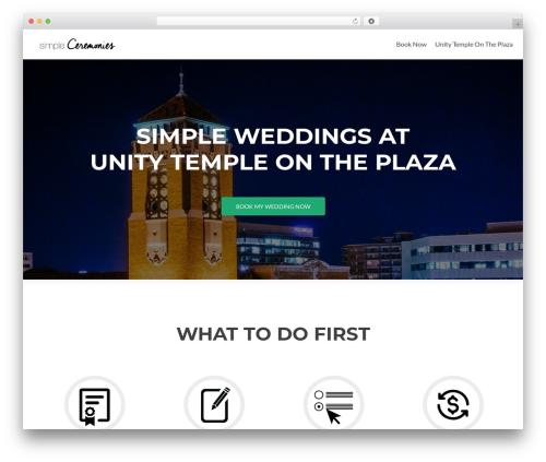 Zerif Lite WordPress theme download - simpleceremonieskc.com
