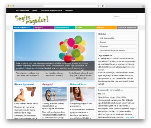 Mimbo premium WordPress theme - segitsmagadon.hu