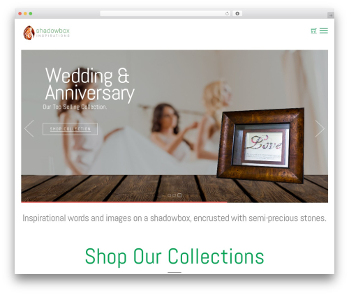 Themify Shoppe WordPress store theme - shadowboxinspirations.com