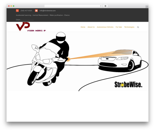 WP template THBusiness Pro - strobewise.com