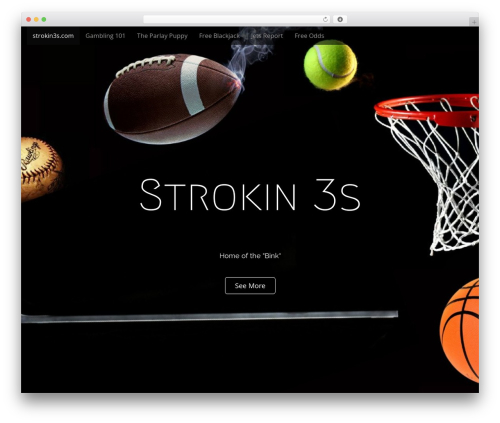 Arcade Basic template WordPress free - strokin3s.com