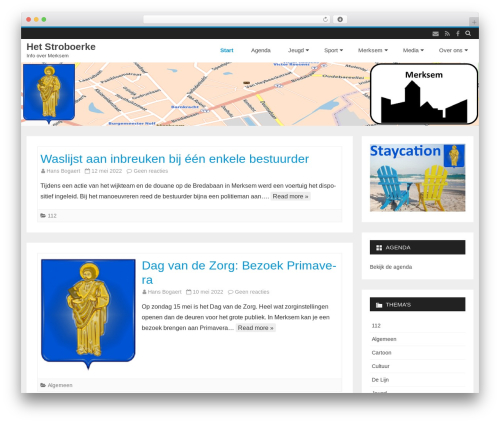 Best WordPress theme Salinger - stroboerke.be