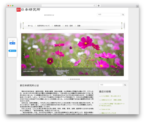 DroidPress WordPress theme download - shinnihonkenkyusho.com