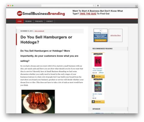 Generate Child Theme best WordPress theme - smallbusinessbranding.com