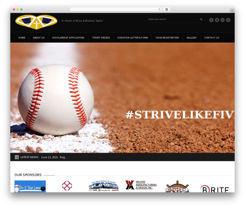 GoalKlub WP theme - strivelikefive.com