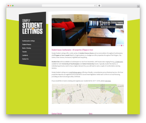 RT-Theme 15 WordPress theme - simplystudentlettings.co.uk