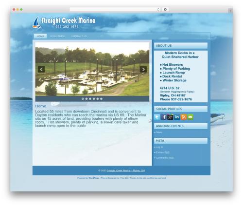 Theme WordPress boating - straightcreekmarina.com