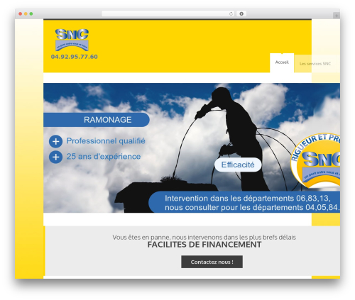 Theme WordPress YellowProject Multipurpose Retina WP Theme - snc-ramonage.com