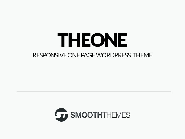 TheOne WordPress template
