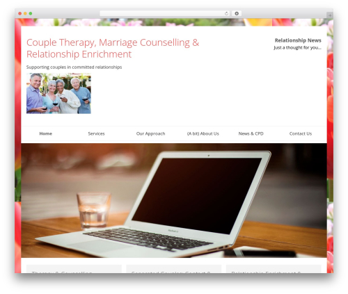 WordPress theme SmartShop - systemiccoupletherapy.com