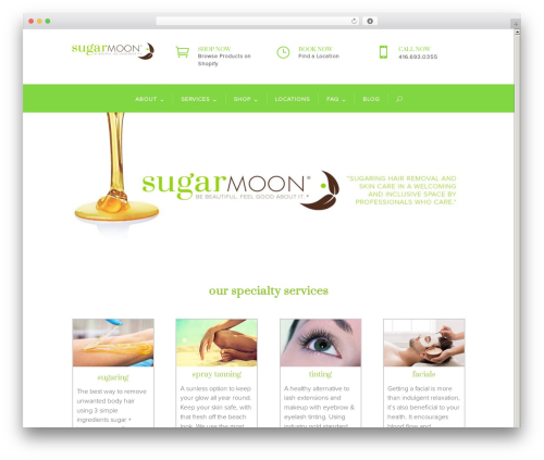 Free WordPress Child Theme Generator plugin - sugarmoonsalon.com