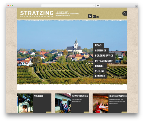 WP template Barcelona - stratzing.at