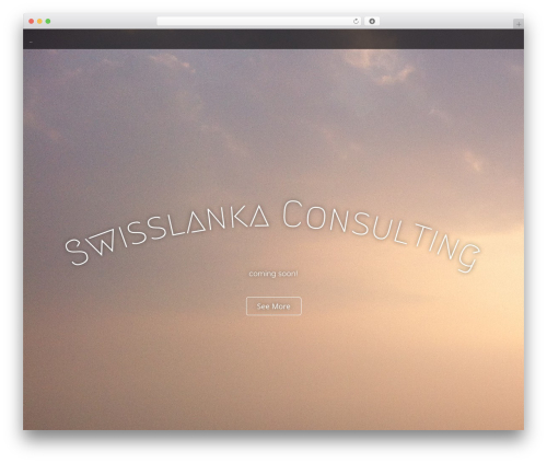 Arcade Basic WordPress template free download - swisslanka.ch