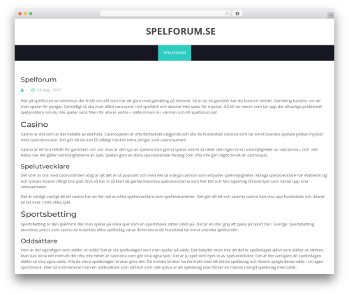 BHost WordPress theme free download - spelforum.se