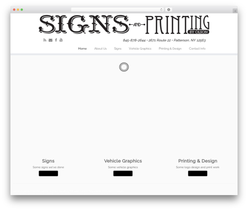Free WordPress WordPress Picture / Portfolio / Media Gallery plugin - signsandprintingbyolson.com