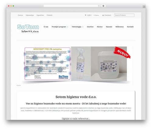 Mystile WordPress theme - sotom-higiena-vode.si