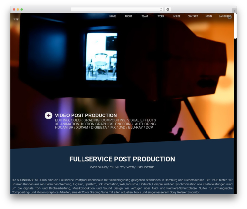Parasponsive + WooCommerce 4.1 WordPress theme - soundbasestudios.de