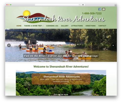 Striking MultiFlex & Ecommerce Responsive WordPress Theme WP template - shenandoahriveradventures.com
