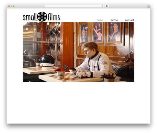 WordPress gallery-video plugin - small-films.com