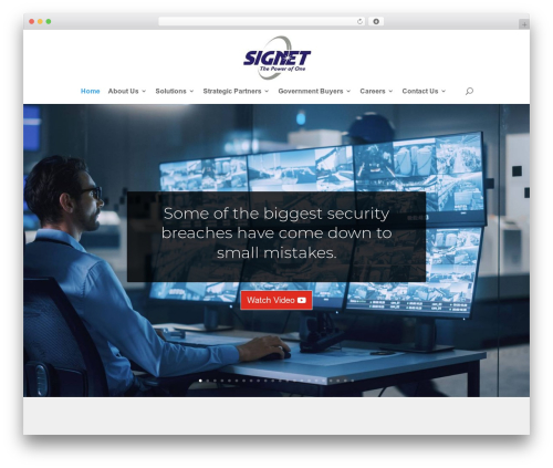 Divi WordPress theme - signetgroup.net