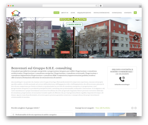 System theme WordPress - sheconsulting.it