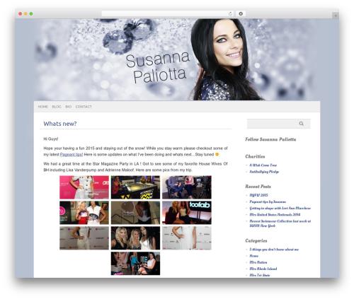 Template WordPress picolight - susannapaliotta.com