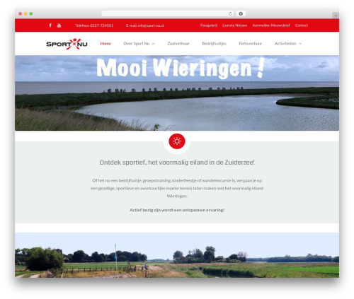 TheFox WordPress theme - sport-nu.nl