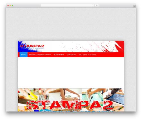 alterna9 (shared on wplocker.com) WordPress theme - stampa2serigrafia.com