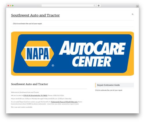Speedy template WordPress free - southwestautoandtractor.com
