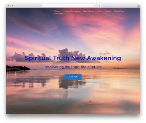 Sydney free WP theme - spiritual-truth.co.uk