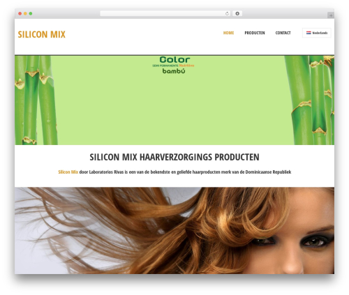 Theme WordPress Solitudo - siliconmix.nl