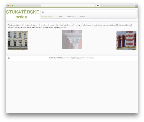 Customizr WordPress free download - stukaterskeprace.sk
