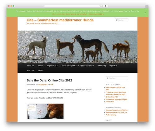 Twenty Eleven free WordPress theme - sfmh.de