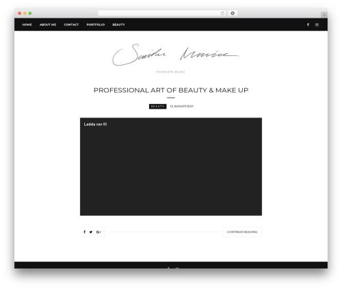 Untold Stories WordPress blog theme - samihamasovic.com