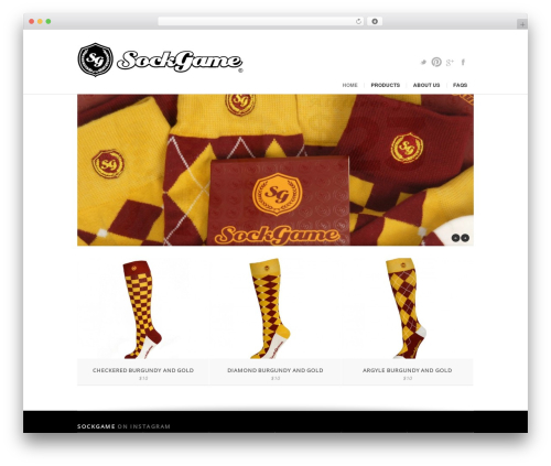 WordPress instagram-picture plugin - sockgame.com