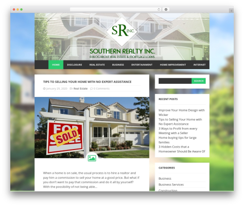 Cicero-modified WordPress real estate - southernrealtyinc.com