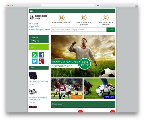 News UI top WordPress theme - soccerlinesport.com