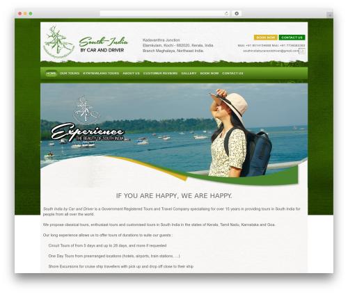 Responsive WordPress theme free download - southindiabycaranddriver.com