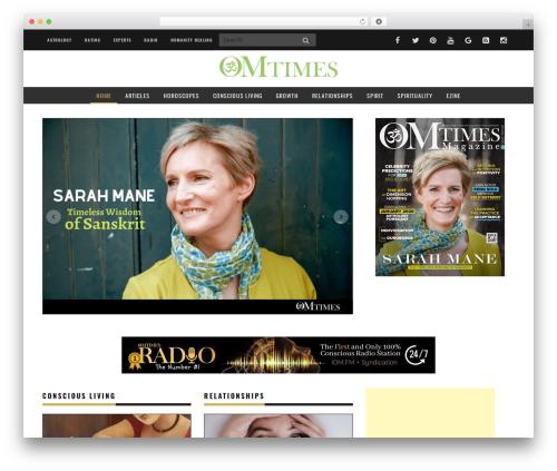 Yorkpress best WordPress magazine theme - omtimes.com