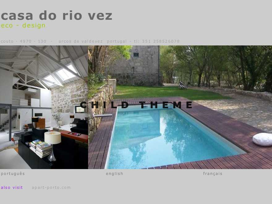 Aware Child template WordPress
