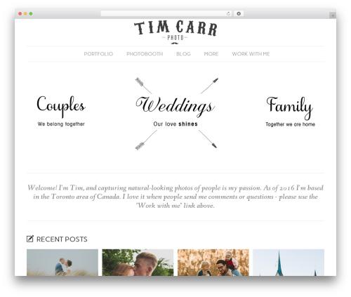 Best WordPress template Dorado Blogsite (ITDR) - timcarrphoto.com