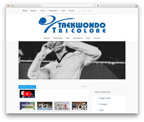 Best WordPress theme Lucid - taekwondotricolore.it