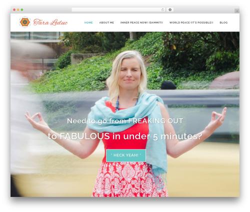 Bridge WordPress theme - taraleduc.com