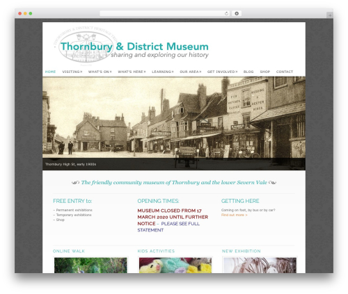Free WordPress MailPoet Newsletters (Previous) plugin - thornburymuseum.org.uk